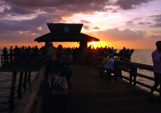 Time-lapse Sunset at The Naples Pier