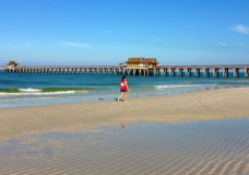 A Beautiful Mid-October Morning at the Naples Pier