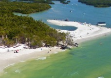 Exclusive Aerial View of Barefoot Beach Preserve in Naples, FL