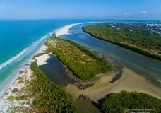 Aerial Video Footage of Sand Dollar Island at Tigertail Beach – Marco Island, FL