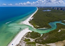 Aerial Photos of Clam Pass Beach Park in Naples, FL
