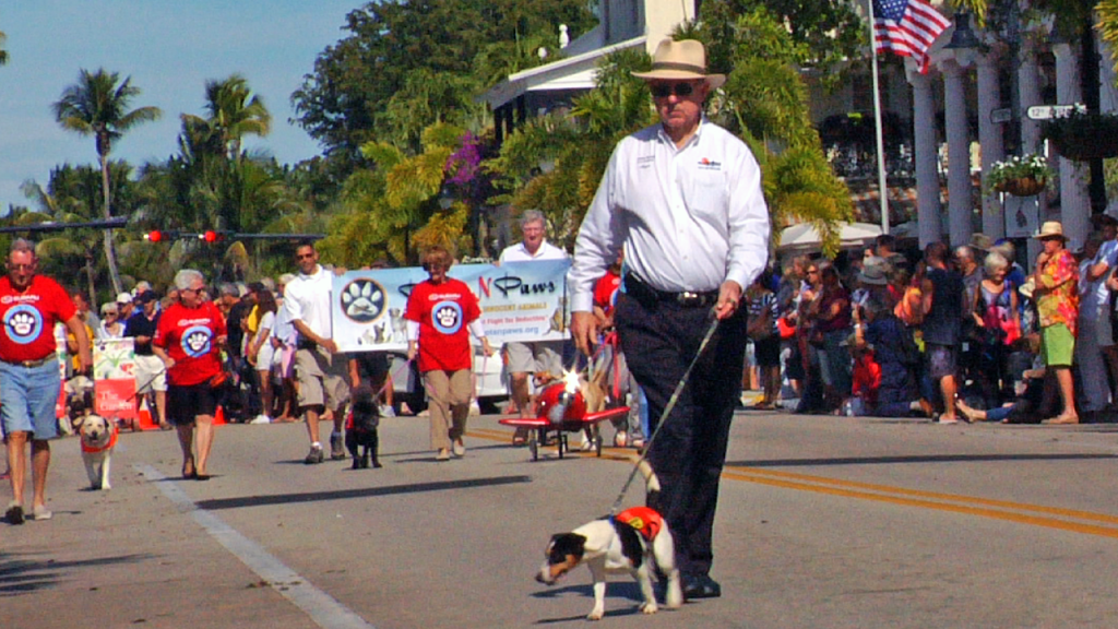 naples mayor john sorey parade