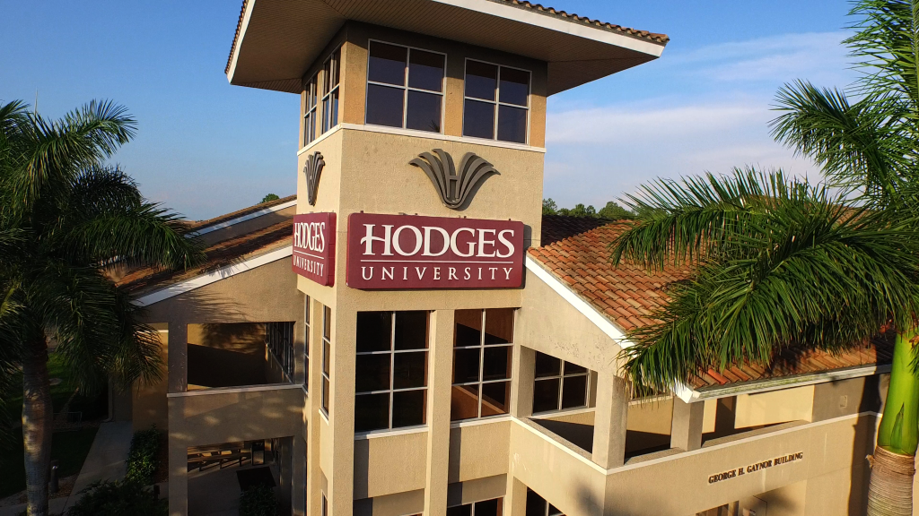 Gaynor Building at  Hodges University's Naples, FL campus.