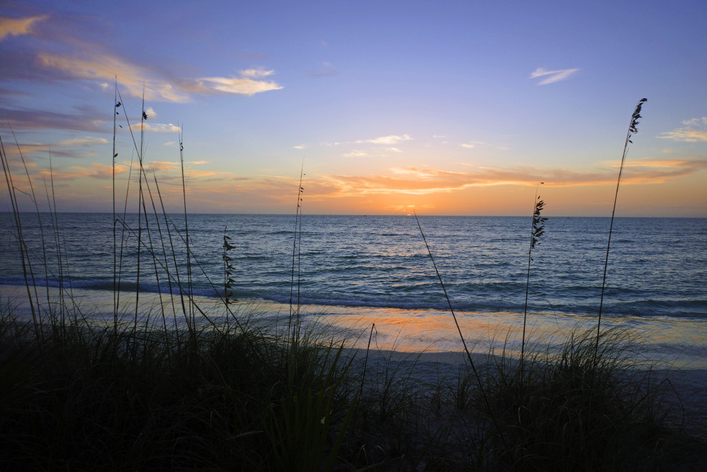 Sunset at Barefoot Beach Preserve - Naples, FL
