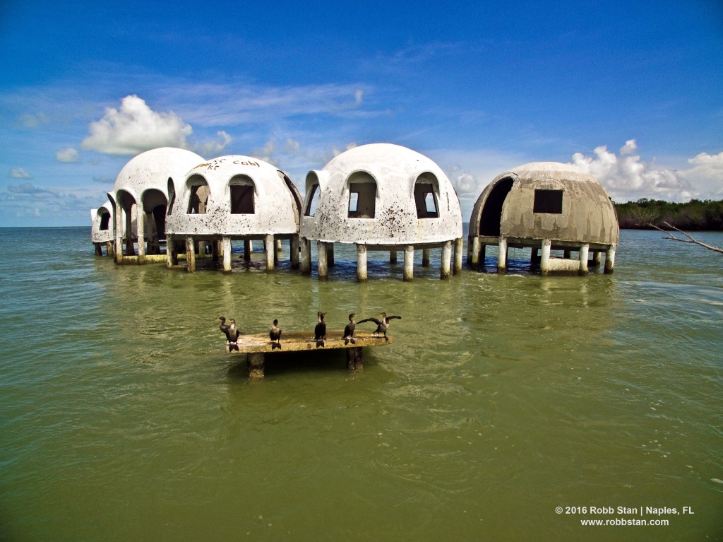 The abandoned dome house of Cape Romano
